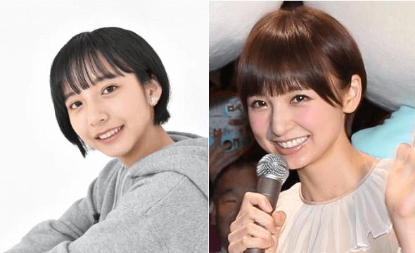 山之内すずさんと篠田麻里子さんはショートヘアがトレードマーク